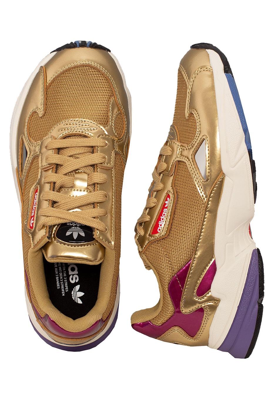 Adidas - Falcon W Gold Metallic - Girl Shoes - Impericon.com US 7751df7a4b55