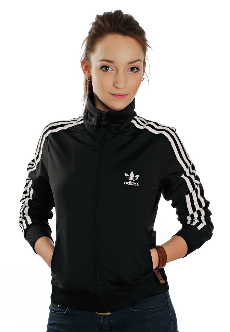 adidas firebird black white track jacket streetwear. Black Bedroom Furniture Sets. Home Design Ideas