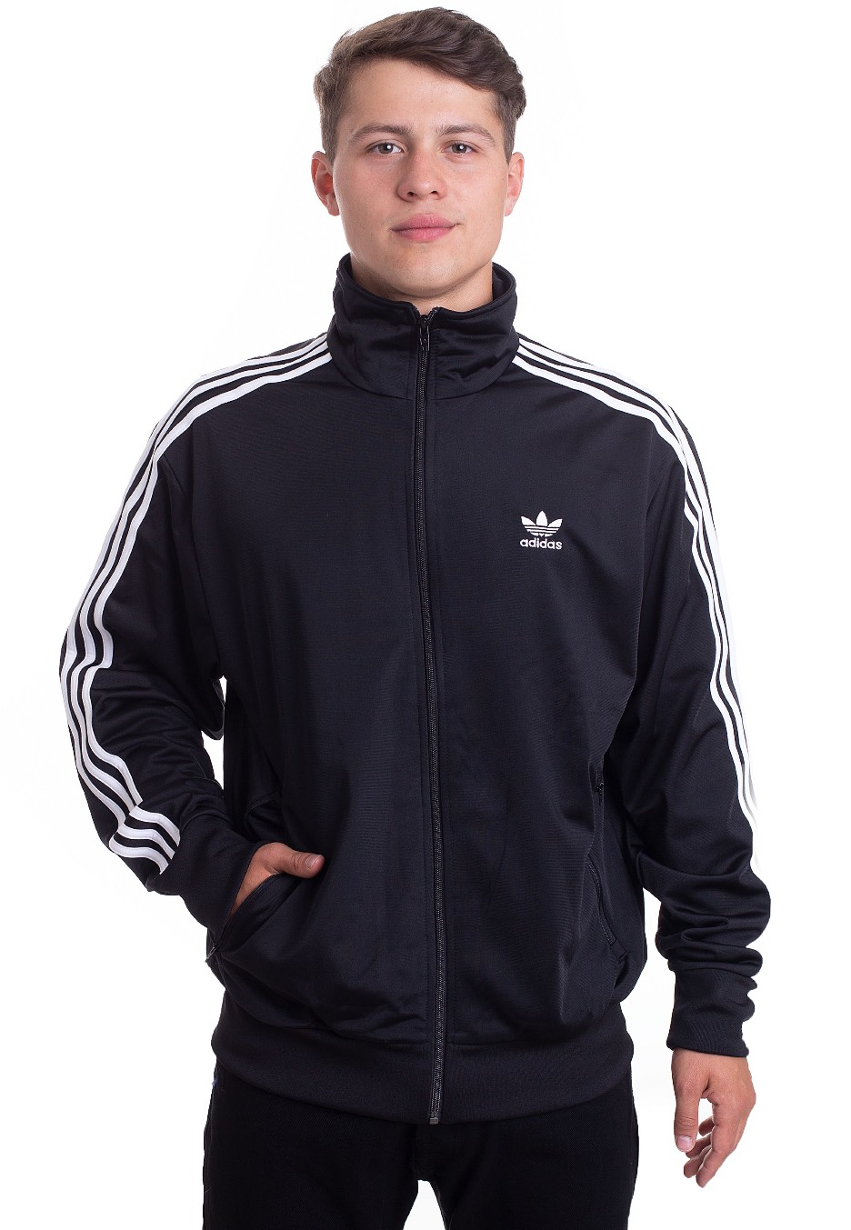 lino esposas Accidental  Adidas - Firebird TT Black - Track Jacket - Fashion Shop - Impericon.com UK