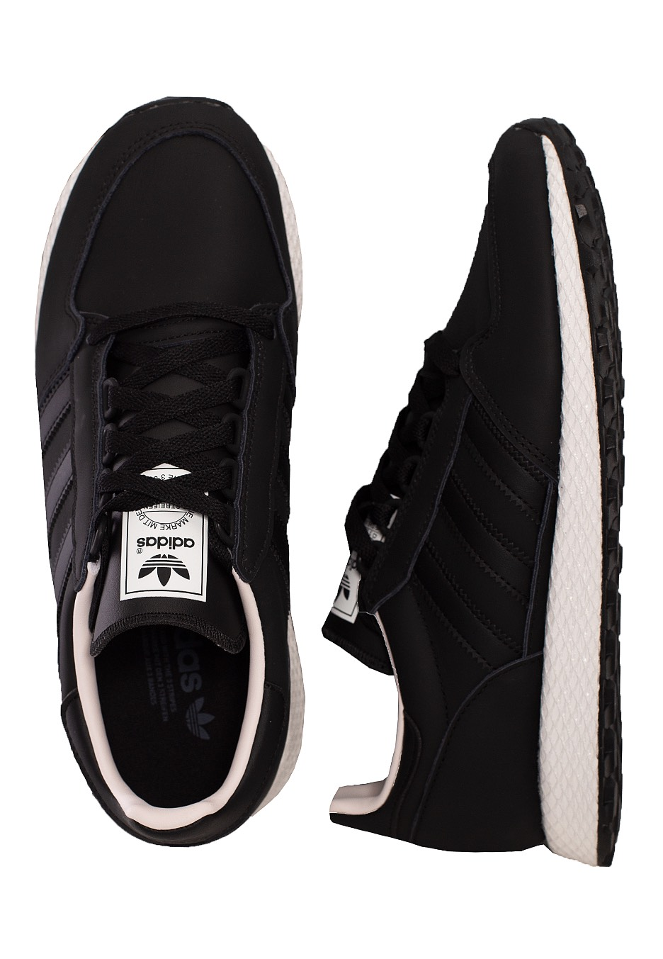 Adidas Forest Grove Core BlackCore BlackOrchid Tint S18 Shoes