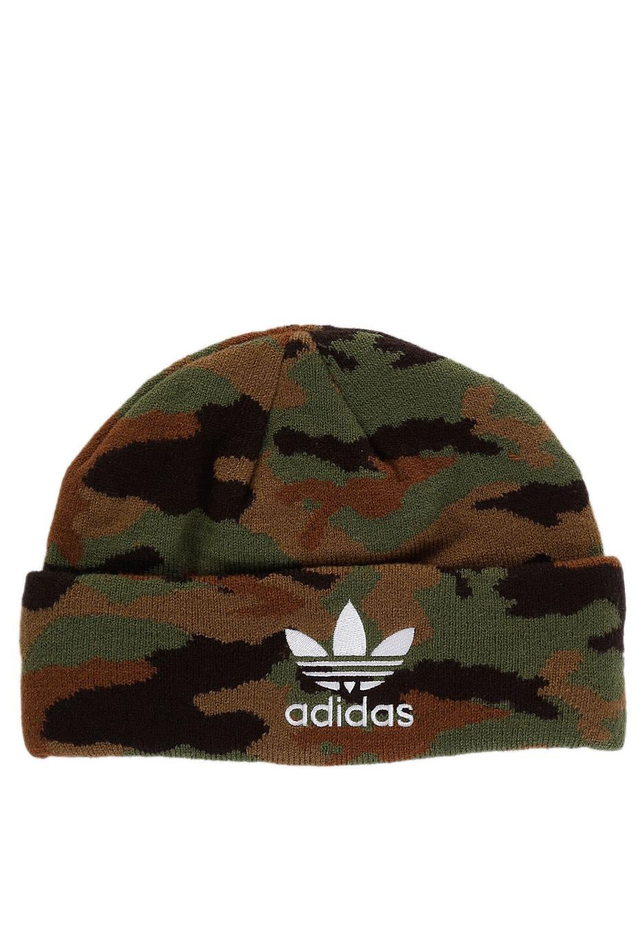 Adidas - Graphic Multicolor White - Beanie - Streetwear Shop -  Impericon.com UK 69ef1b9f111