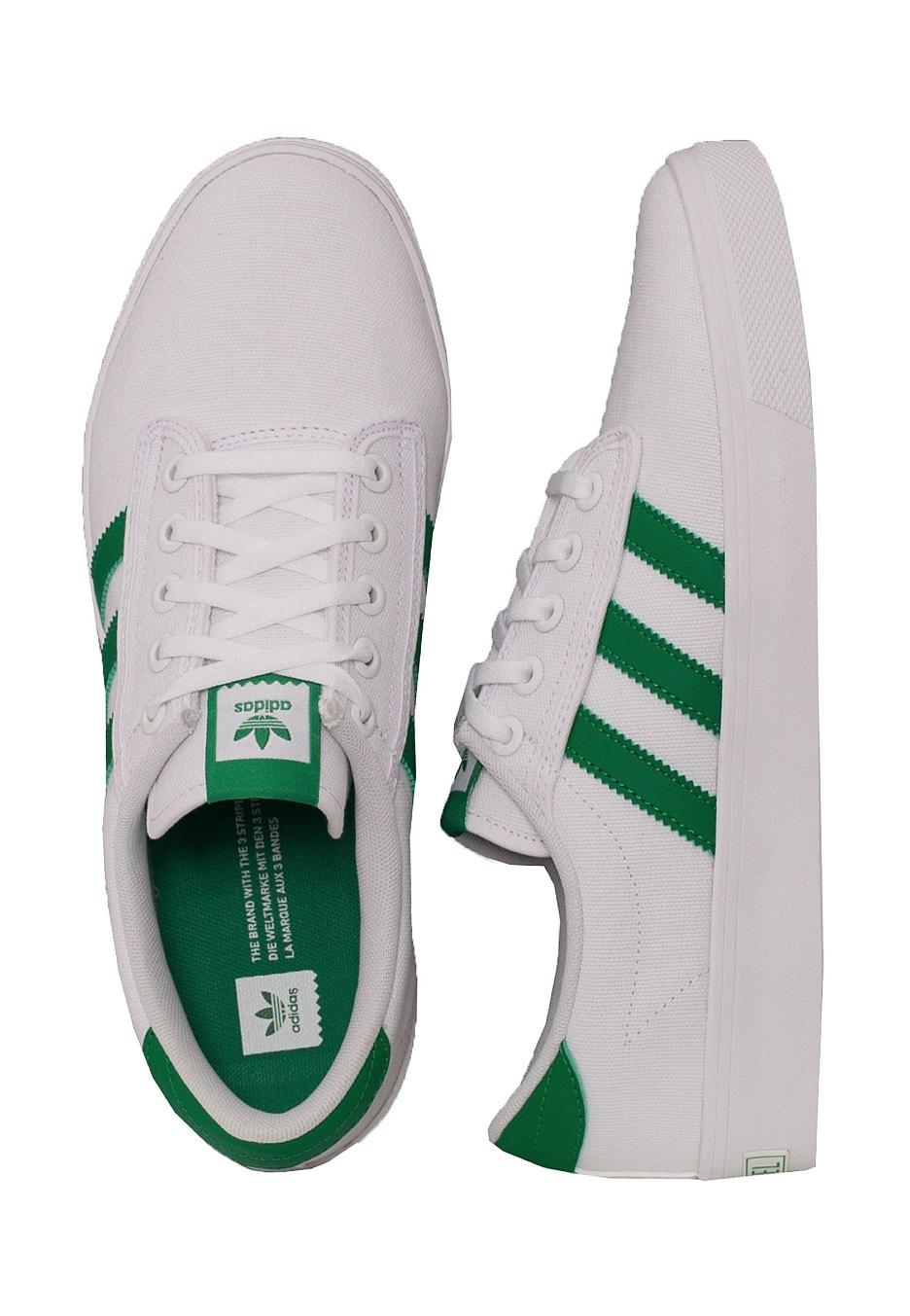 Adidas Kiel Ftw White/Green/Ftw White/Green/Ftw White/Green/Ftw White Shoes ddf8de