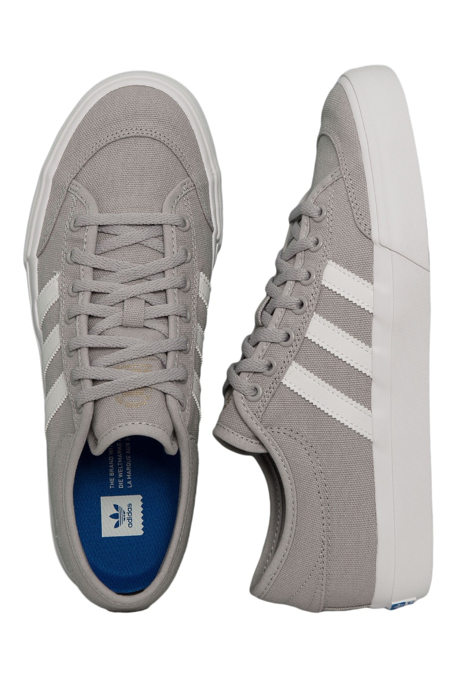 87ec46538620 Adidas - Matchcourt Grey Two Ftwr White Gum 4 - Shoes - Impericon.com  Worldwide