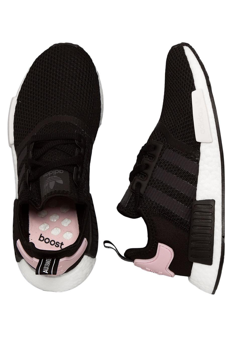 black shoes adidas