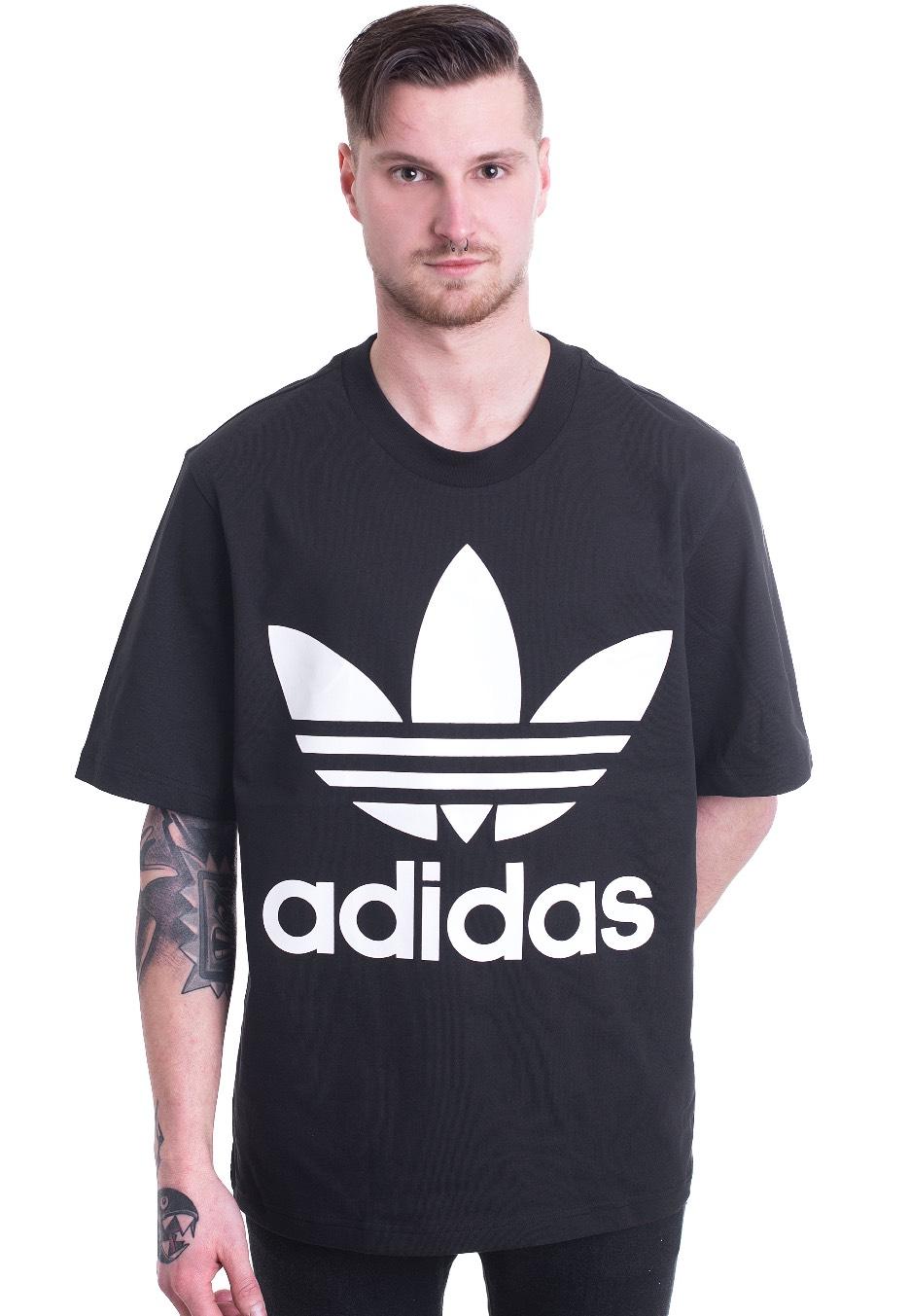 Adidas Oversized Black T Shirt