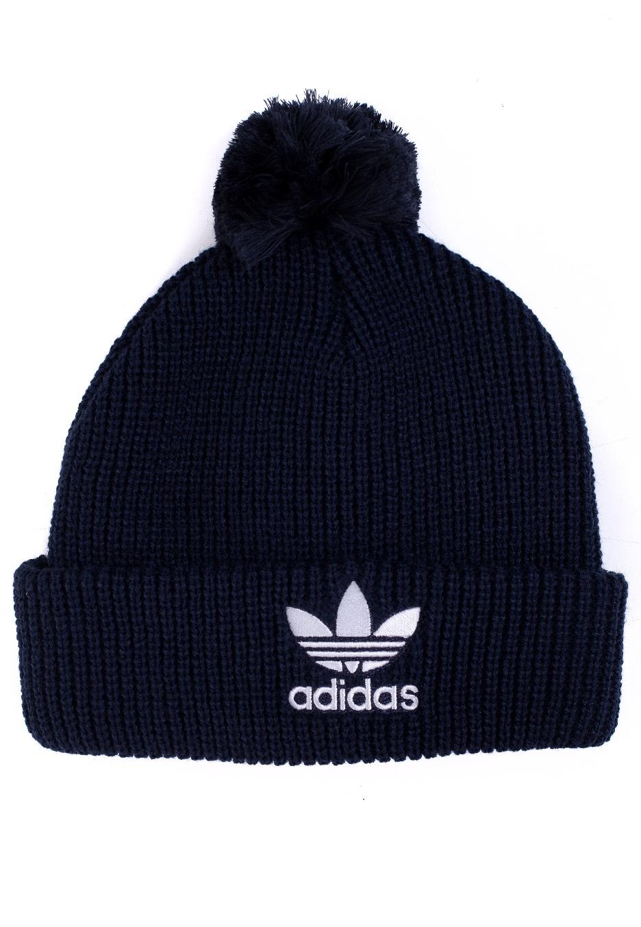 Adidas - Pom Pom Collegiate Navy - Beanie - Streetwear Shop - Impericon.com  US 6a85f1c0c1b