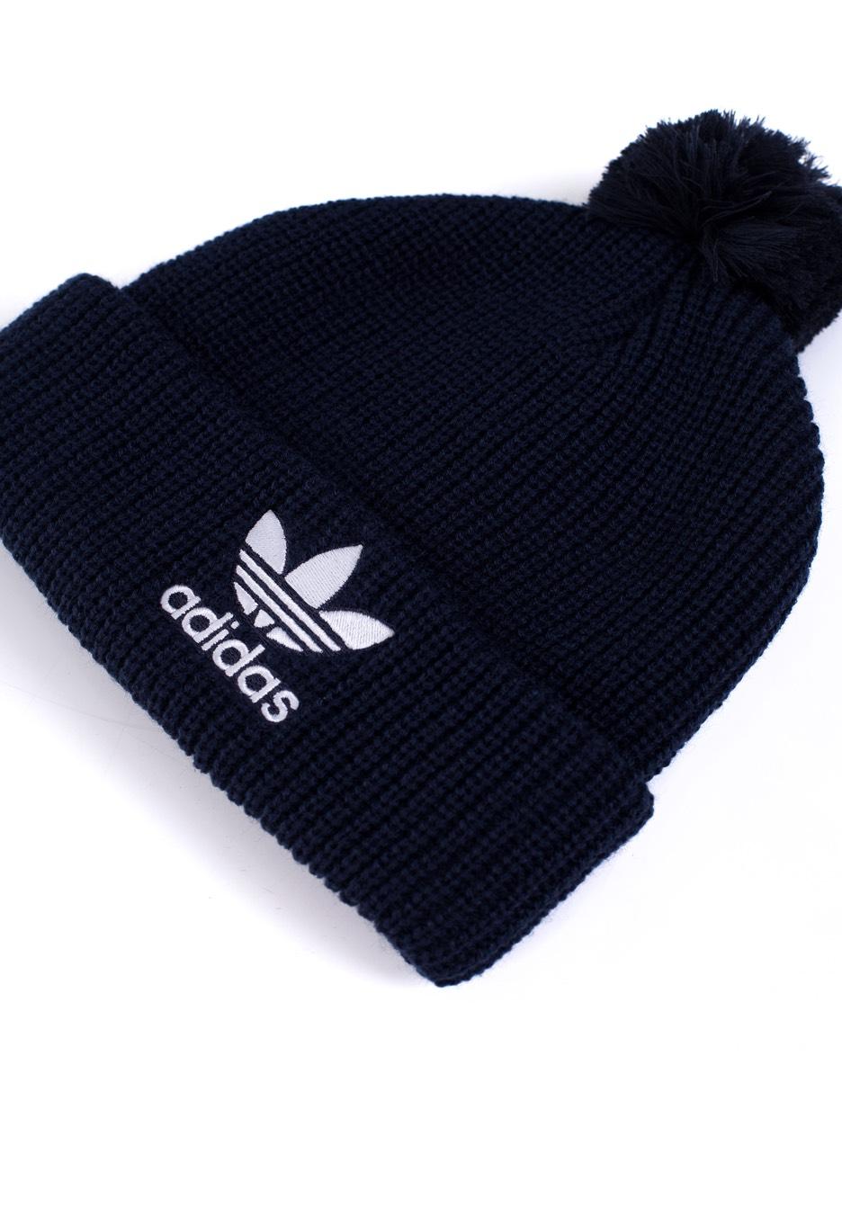 Adidas - Pom Pom Collegiate Navy - Muts - Streetwear Shop ... bc67651f3d3