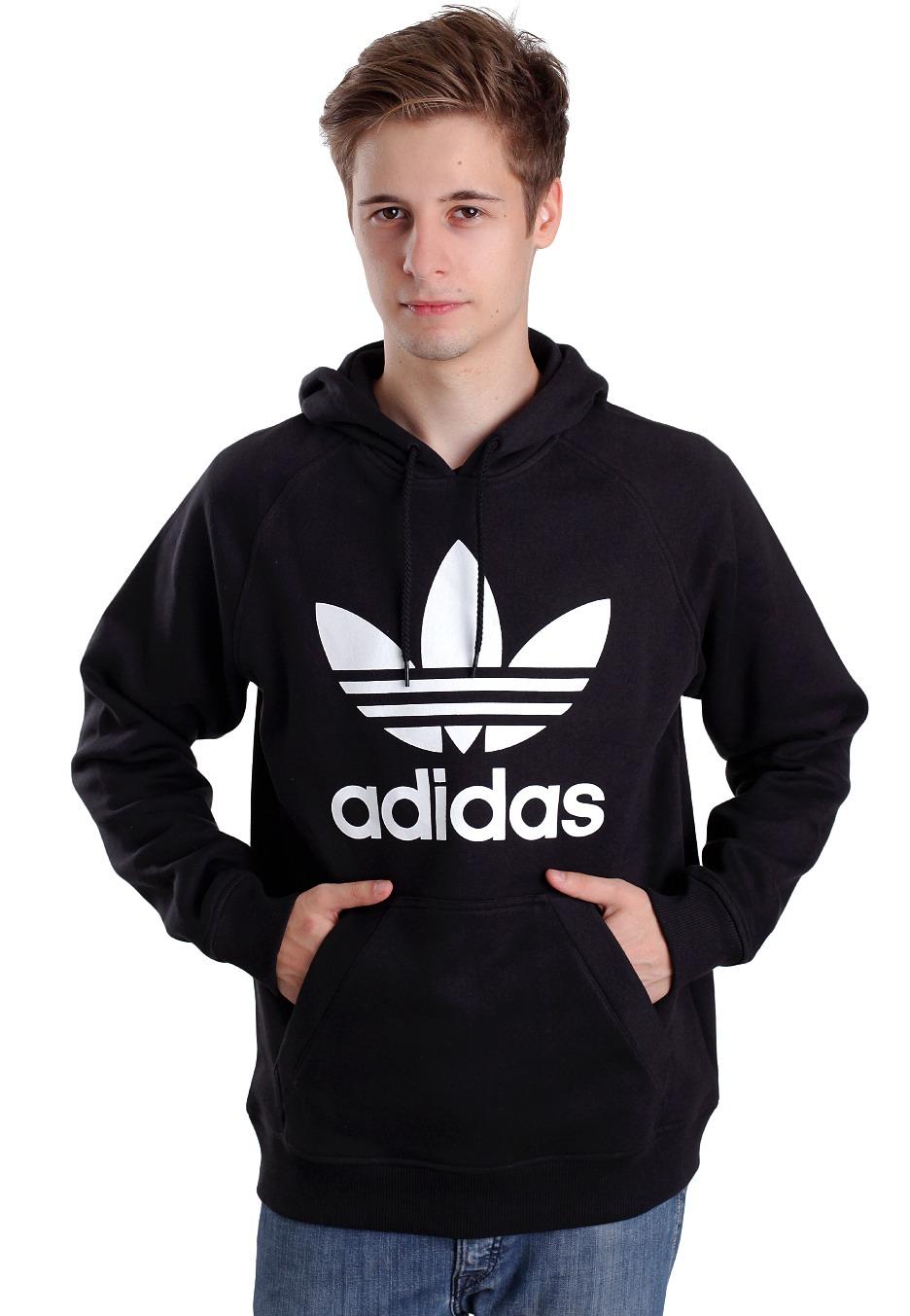 Adidas Raglan Trefoil Hoodie