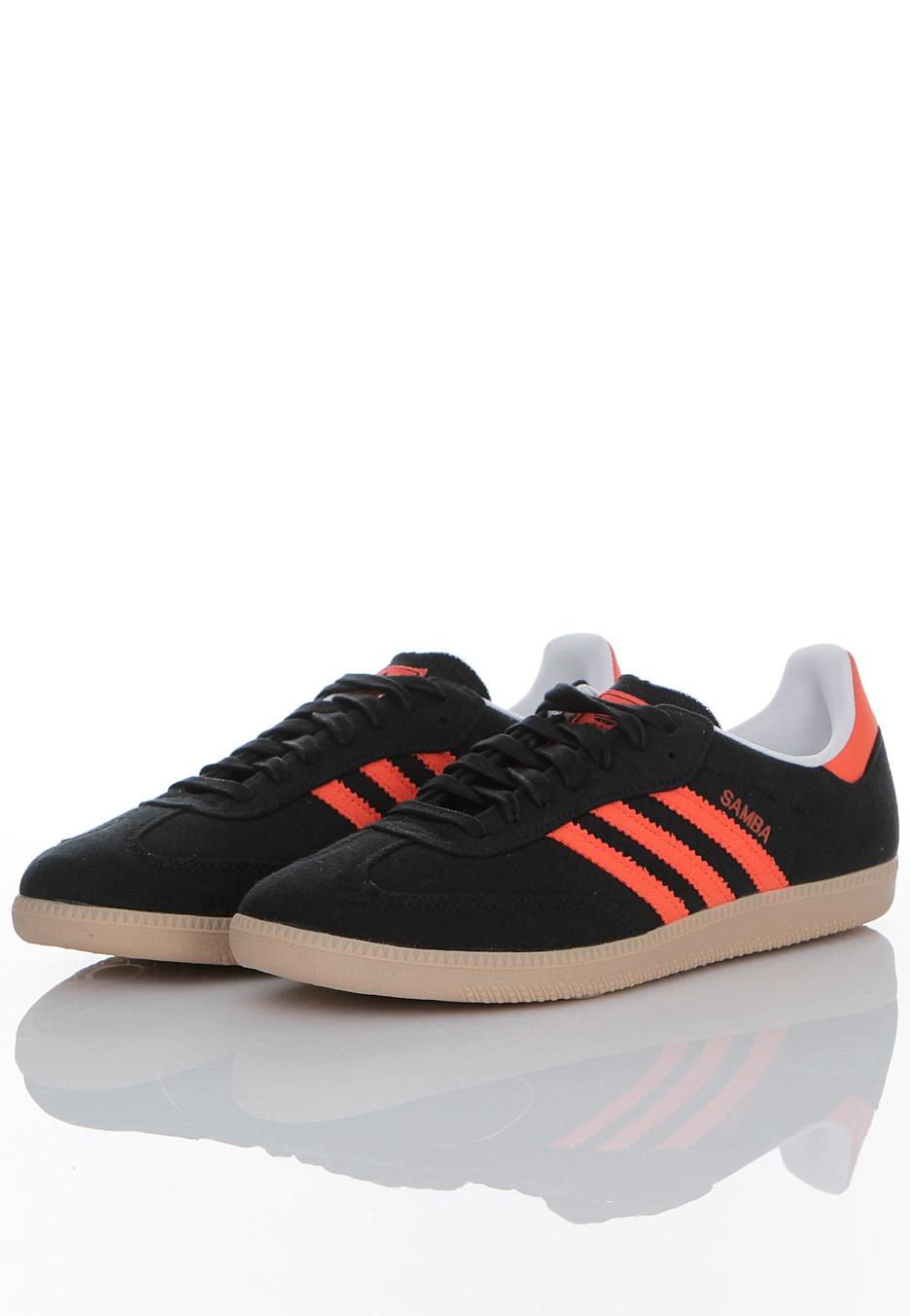 denmark adidas samba orange black 04bb1 dc23b