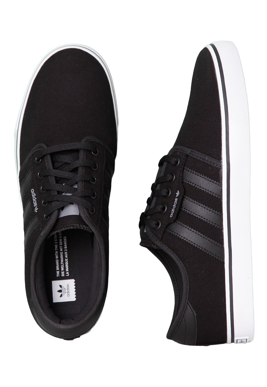 d01fa987b78 Adidas - Seeley Core Black Grey Ftwr White - Shoes - Impericon.com Worldwide