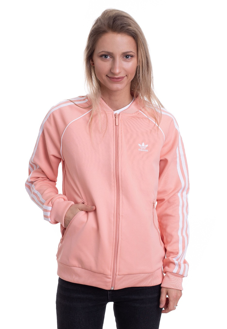 Jacken für Frauen - Adidas SST Dust Pink Jacken  - Onlineshop IMPERICON