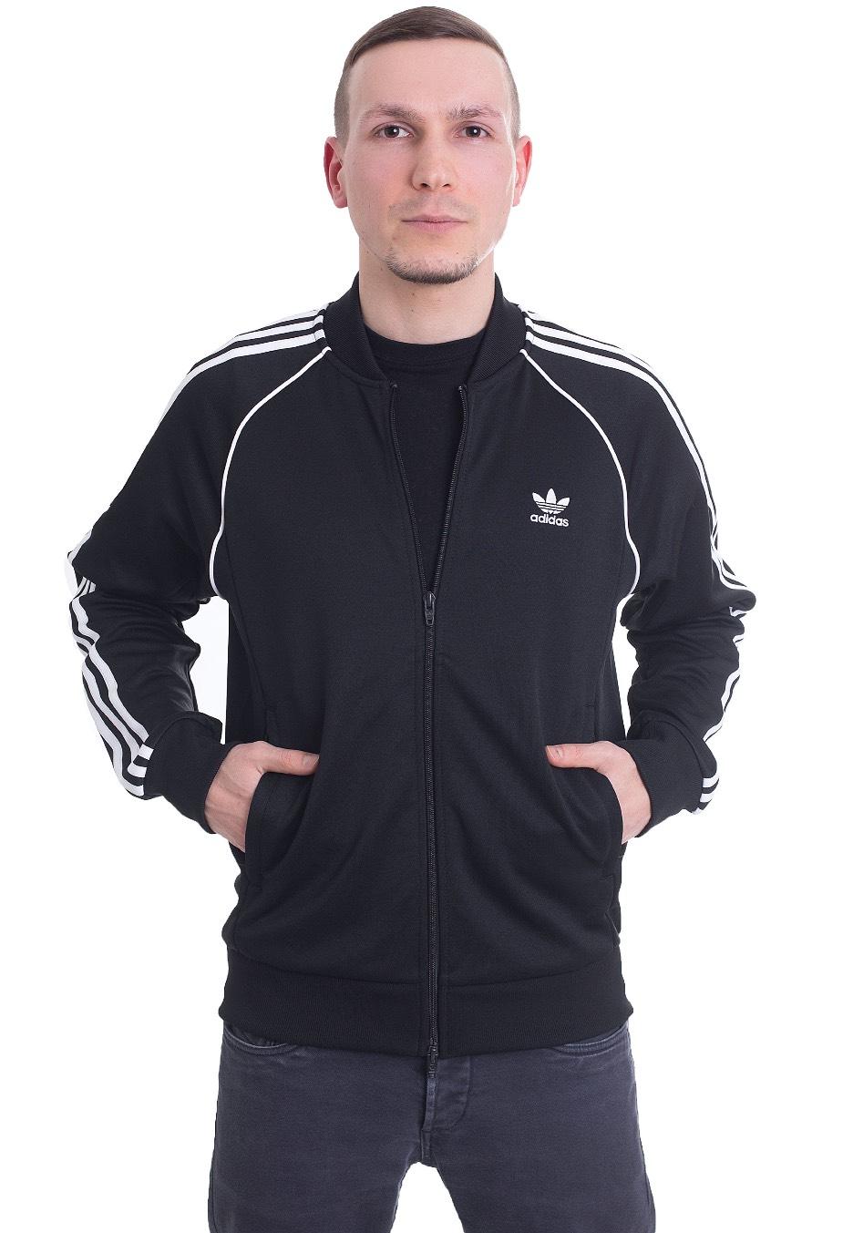 fd3cb0d33687c Adidas - SST Black - Track Jacket - Streetwear Shop - Impericon.com  Worldwide