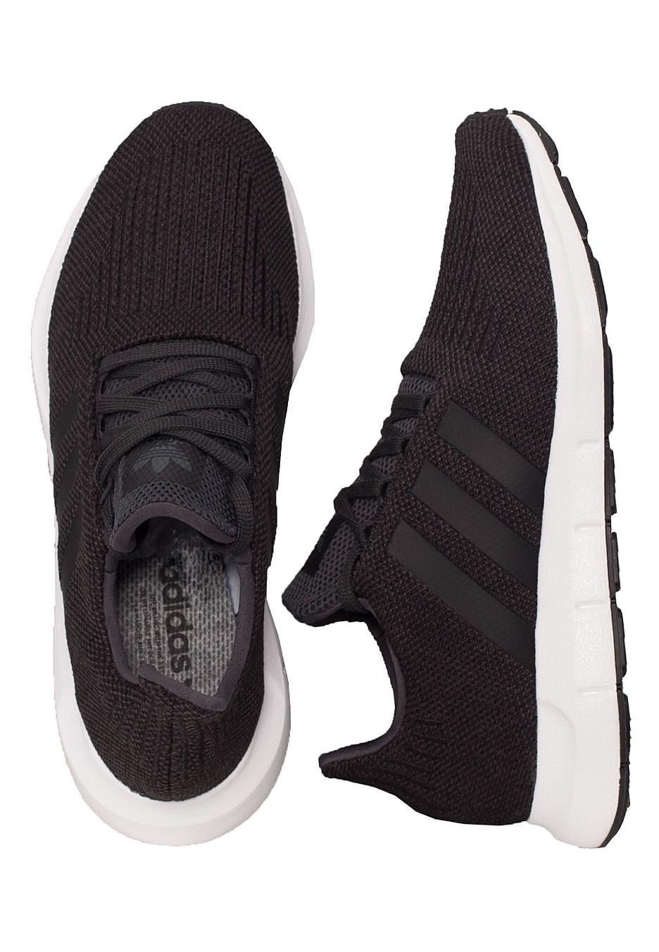 b673d630ecc6 Adidas - Swift Run Carbon Core Black Medium Grey Heather - Shoes -  Impericon.com UK