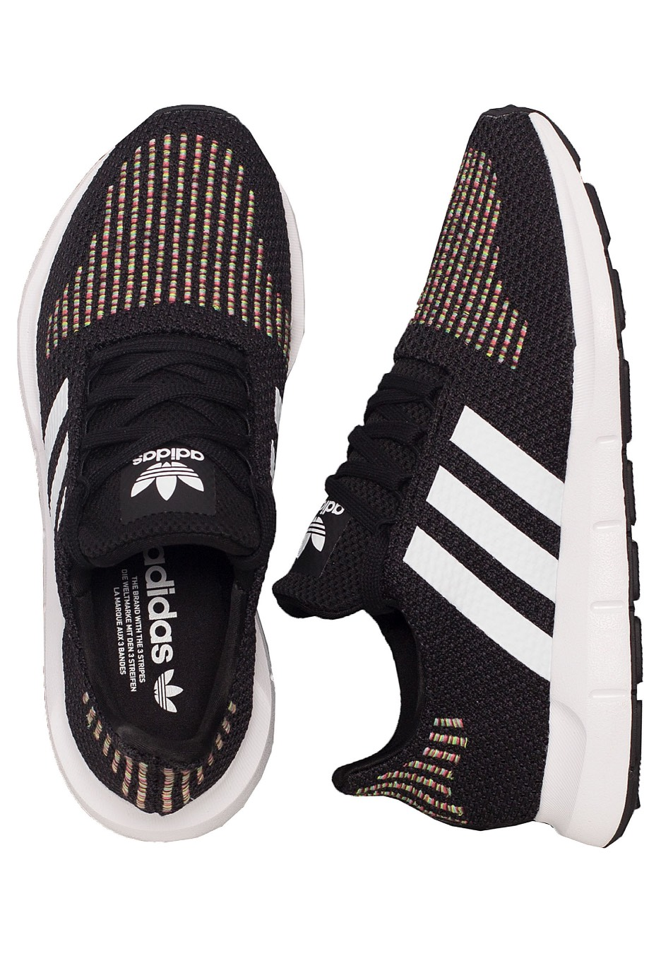 Adidas Swift Run Core BlackFtw WhiteCore Black Chaussures pour fille