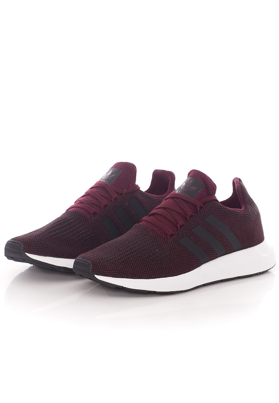... Adidas - Swift Run MaroonCore BlackFtw White - Shoes ...
