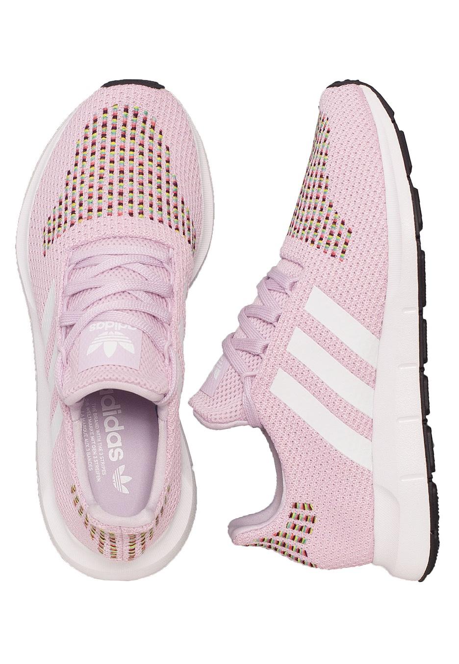 12b15a87f Adidas - Swift Run Aero Pink Ftw White Core Black - Girl Shoes -  Impericon.com US