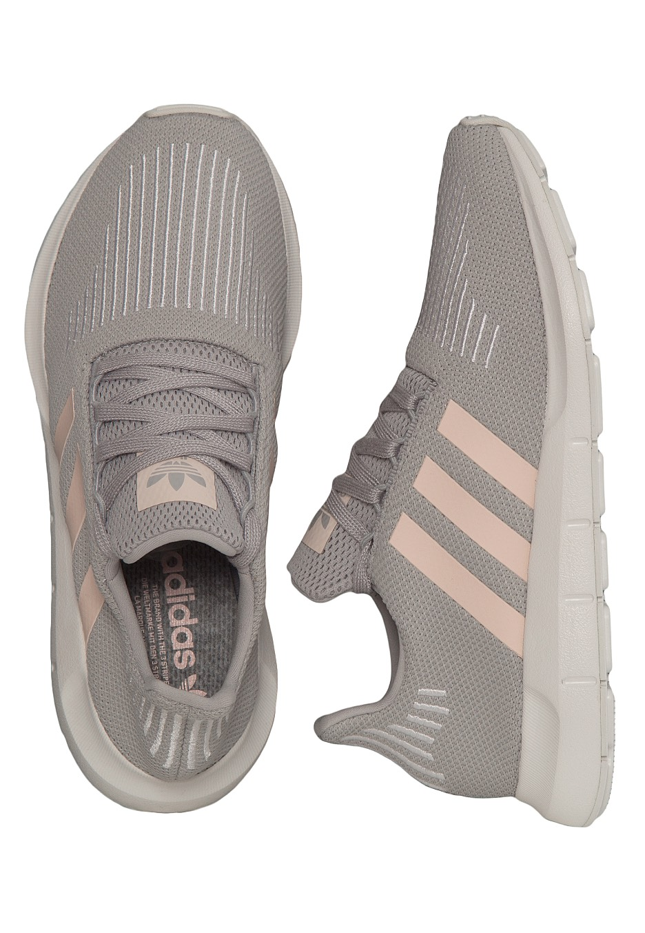 5b8aa163ac1 Adidas - Swift Run W Grey Two Icey Pink Ftwr White - Girl Shoes -  Impericon.com UK