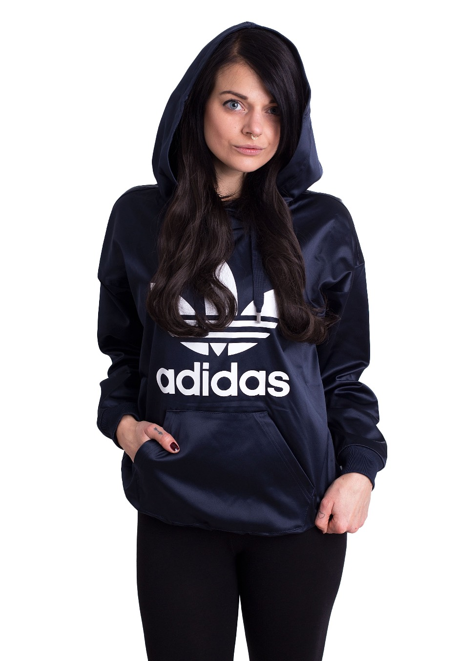 aab6ccdb0011 Adidas - Trefoil Legend Ink - Hoodie - Streetwear Shop - Impericon.com US