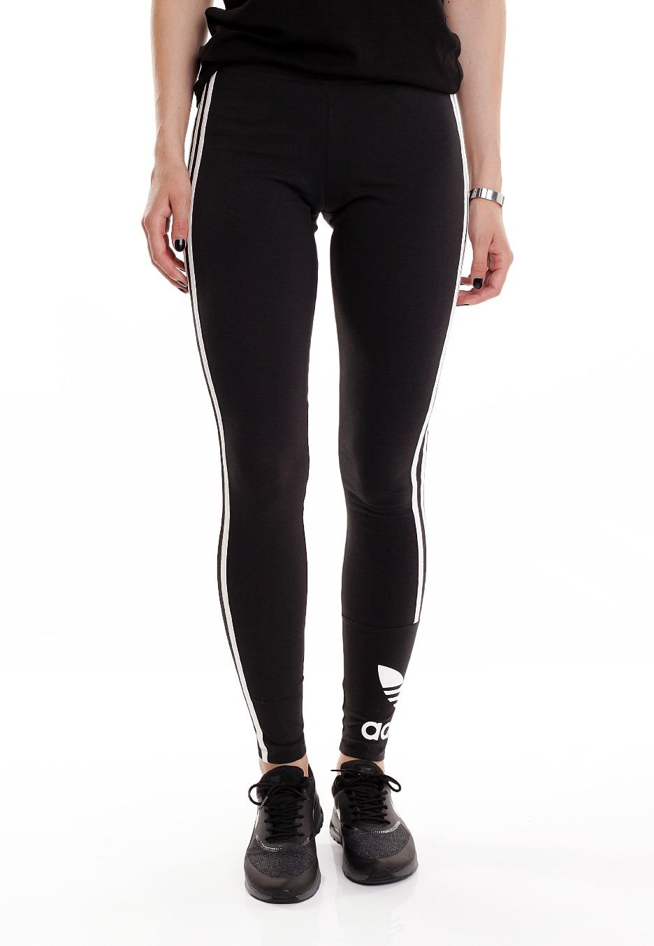 Adidas - Trefoil Stripes Black/Core White