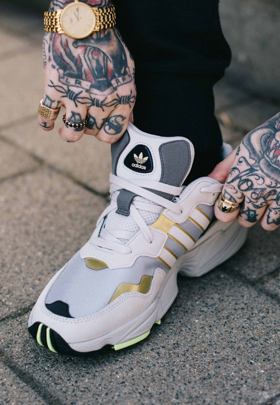 Adidas - Yung-96 Silver Metallic/Grey One/Gold Metallic - Shoes ...