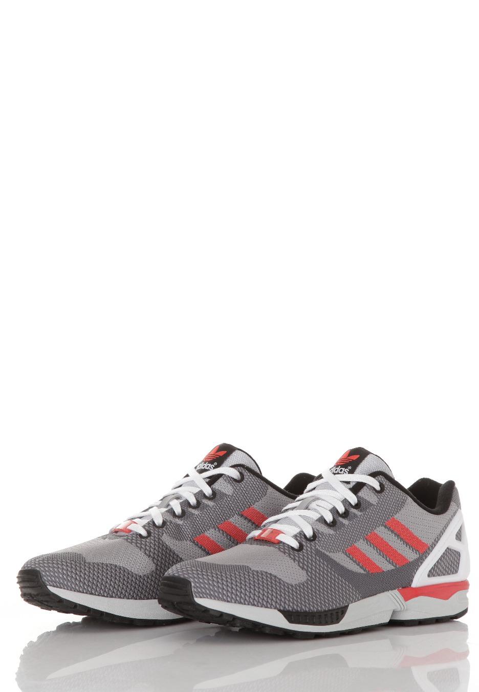 4b4c1d86477 Adidas - ZX Flux Weave Aluminium - Shoes - Impericon.com US