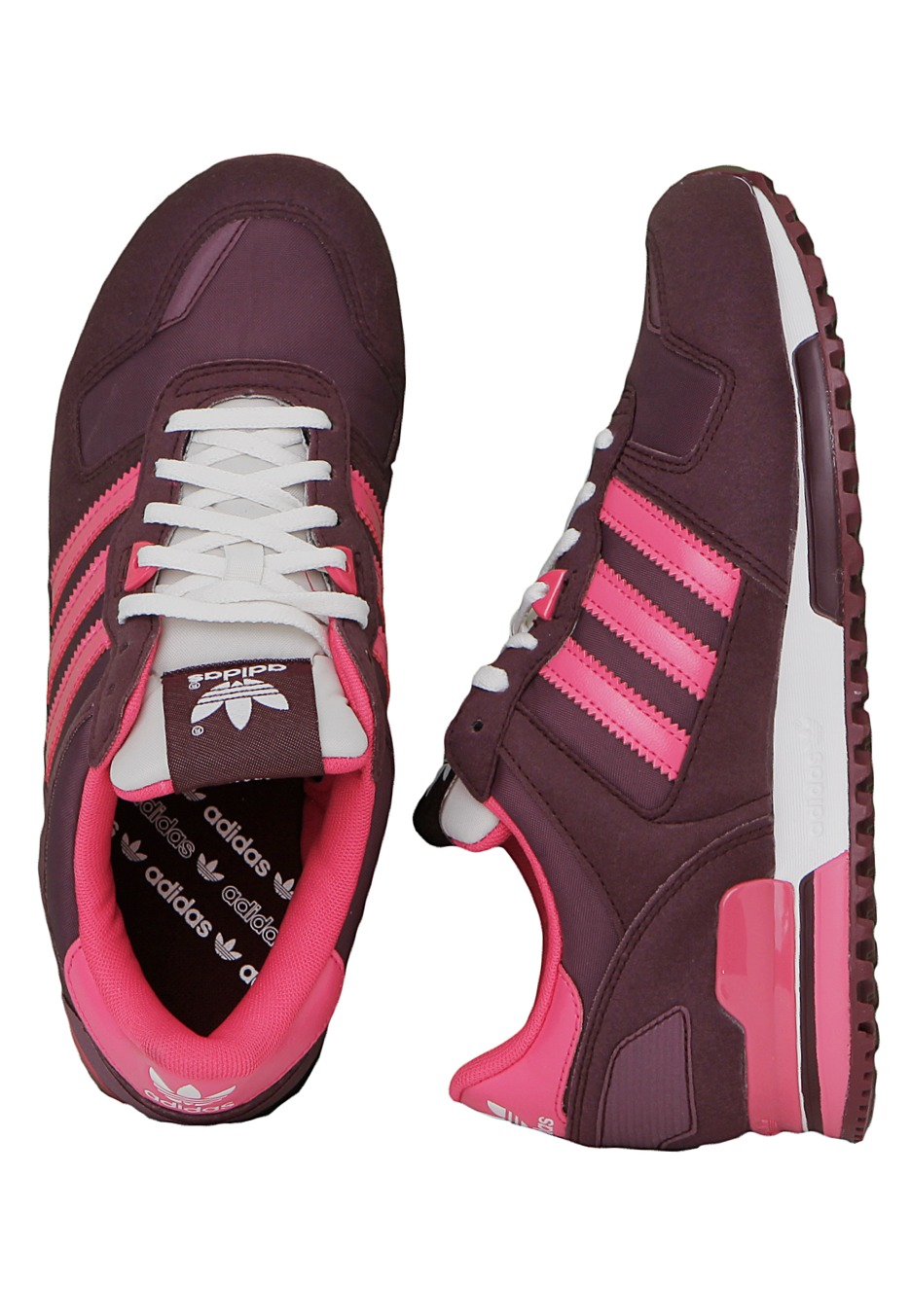 énorme réduction cc4a0 5daea Adidas - ZX 700 Light Maroon/White Vapour/Super Pink - Girl Shoes