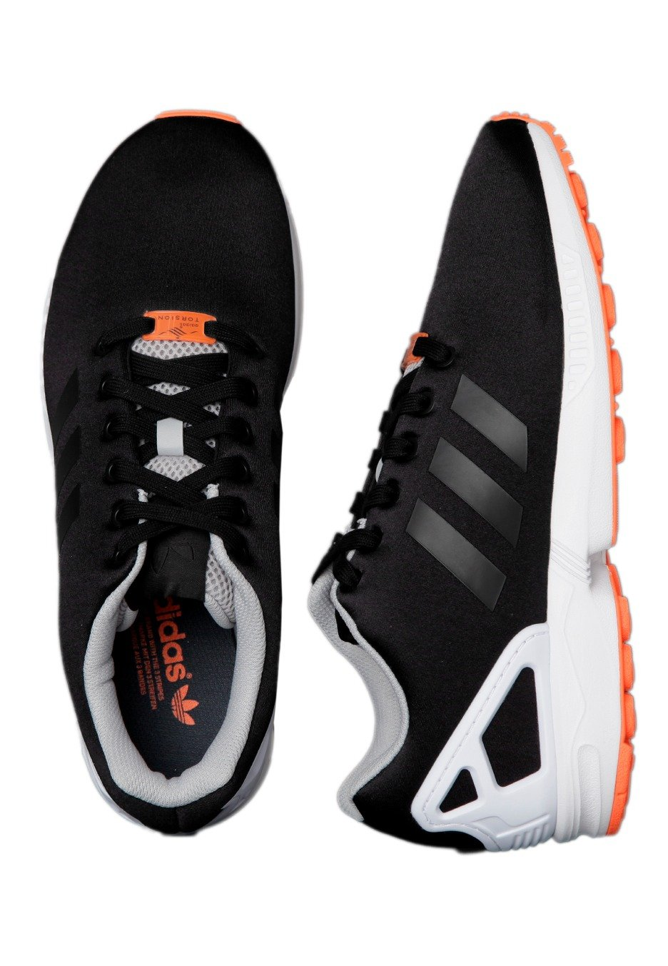best service 3184e 79c09 Adidas - ZX Flux Core BlackFtwr White - Shoes - Impericon.co