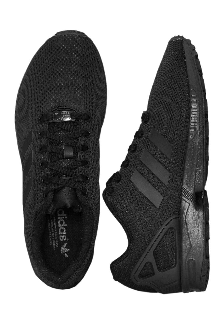 Adidas - ZX Flux Core Black Core Black Dark Grey - Shoes - Impericon.com  Worldwide 8c524b1be