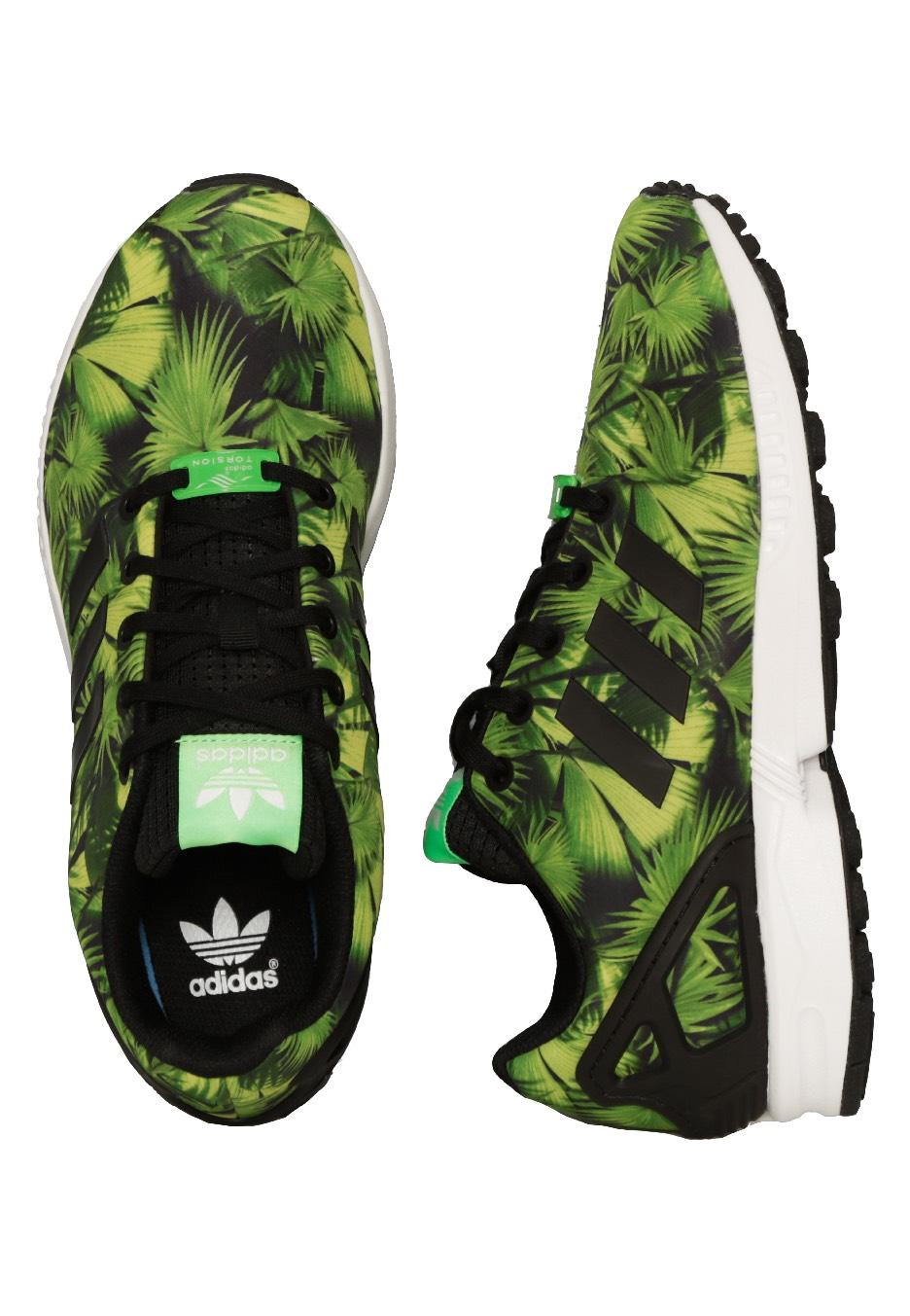 grossiste c96e0 2bbc9 Adidas - ZX Flux K Core Black/Core Black/Ftwr White - Girl Shoes
