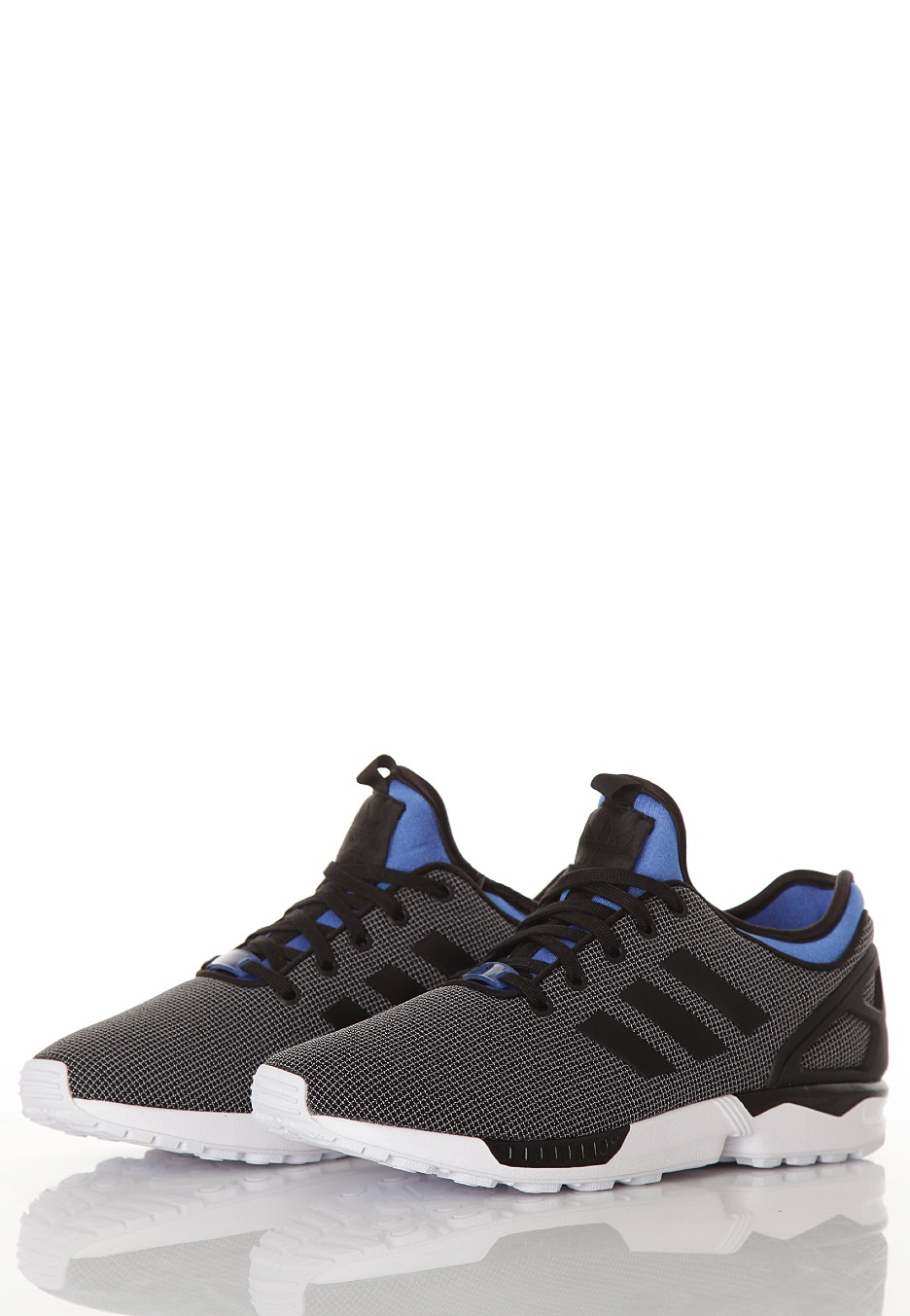 cdd74b337f55b ... italy adidas zx flux nps black black pool blue shoes e15d4 5b2f1