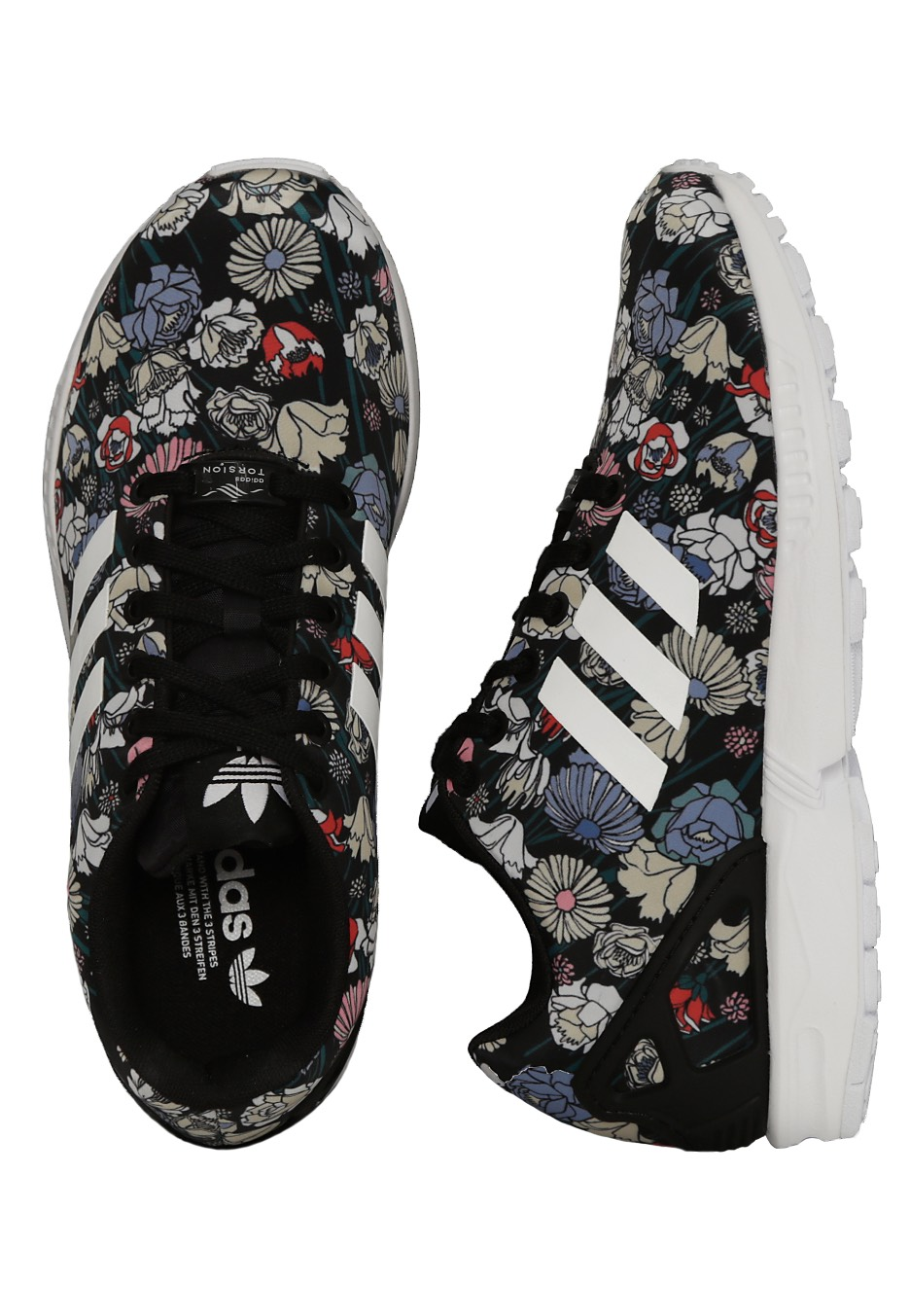 huge discount 09ba7 2cd6d Adidas - ZX Flux W Core BlackCore BlackFTWR White - Girl Shoes -  Impericon.com AU