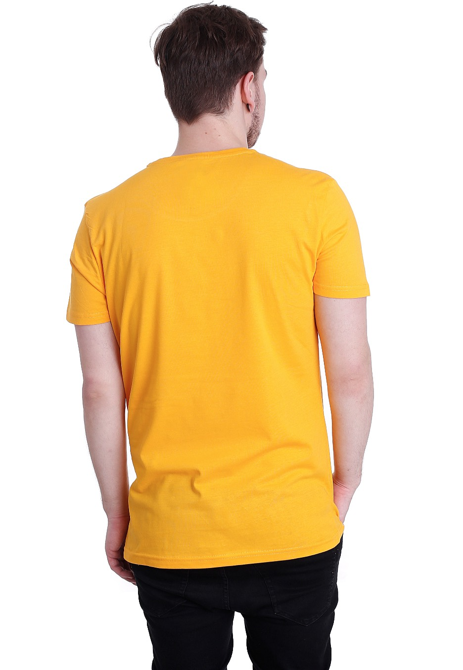 Shirt t Yellow back rare photo