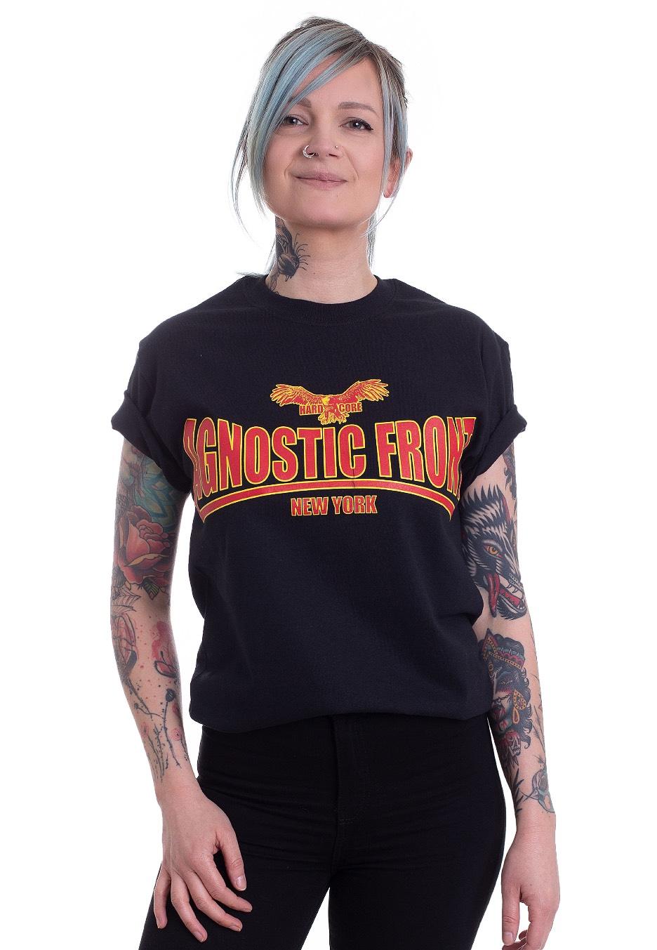 a5007ec2f6ce7 Agnostic Front - Logo - T-Shirt - Official Hardcore Merchandise Shop -  Impericon.com UK
