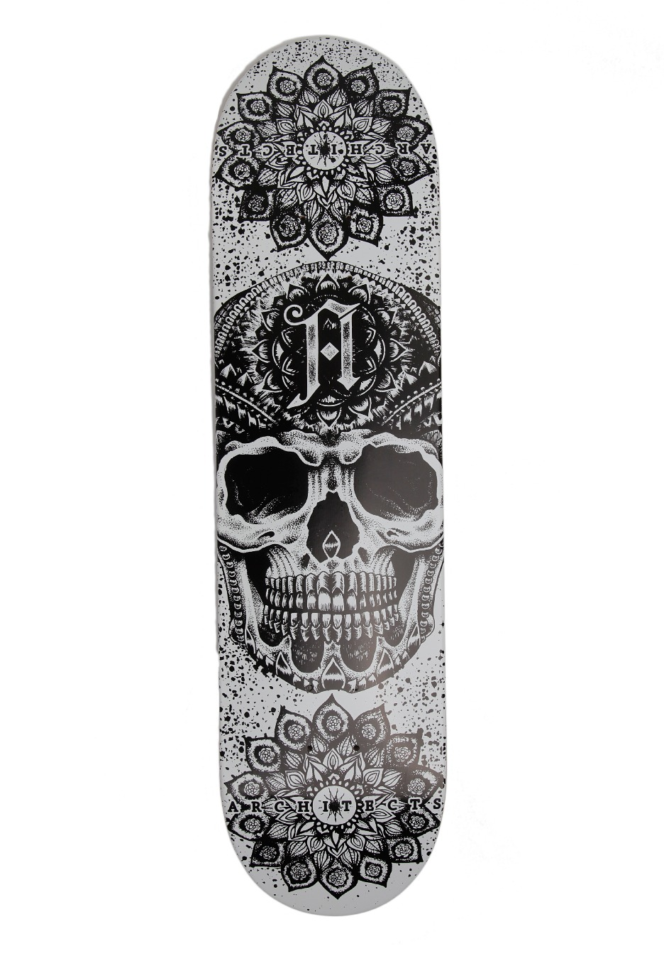 Architects - Arch Skull - Skate Deck - Official Mathcore ...