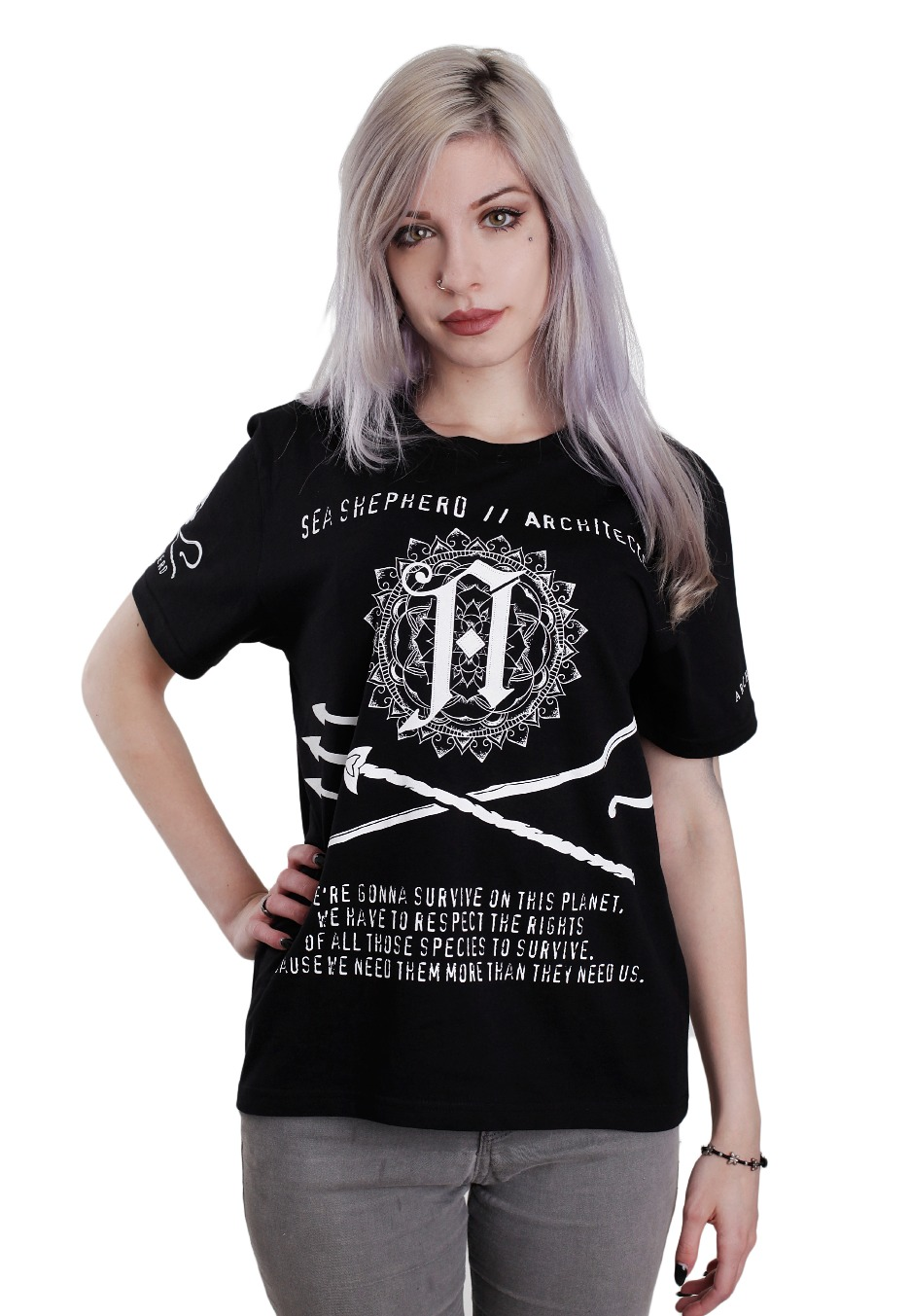 architects sea shepherd collab t shirt official. Black Bedroom Furniture Sets. Home Design Ideas