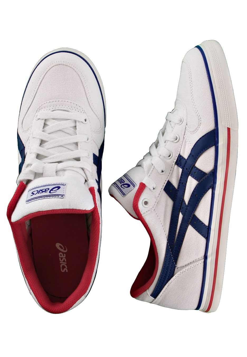 Asics - Aaron CV White/Navy - Shoes