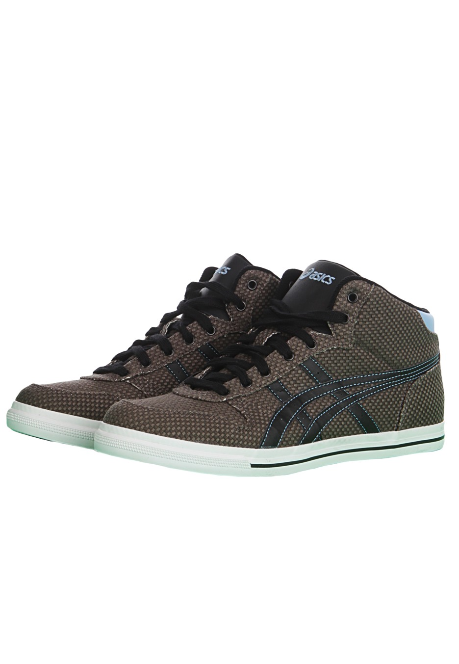 asics - aaron mt cv dark grey - shoes