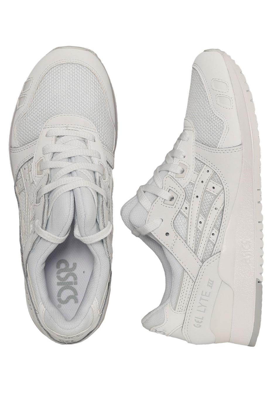 37f10fc7f5 Asics - Gel-Lyte III White White - Sapatos de Mulher - Impericon.com PT