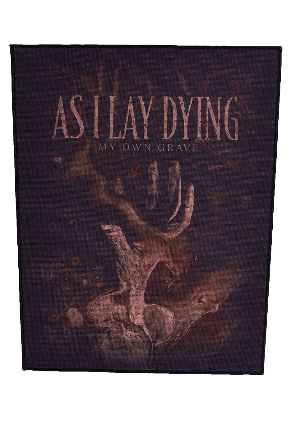 As I Lay Dying My Own Grave Backpatch Official