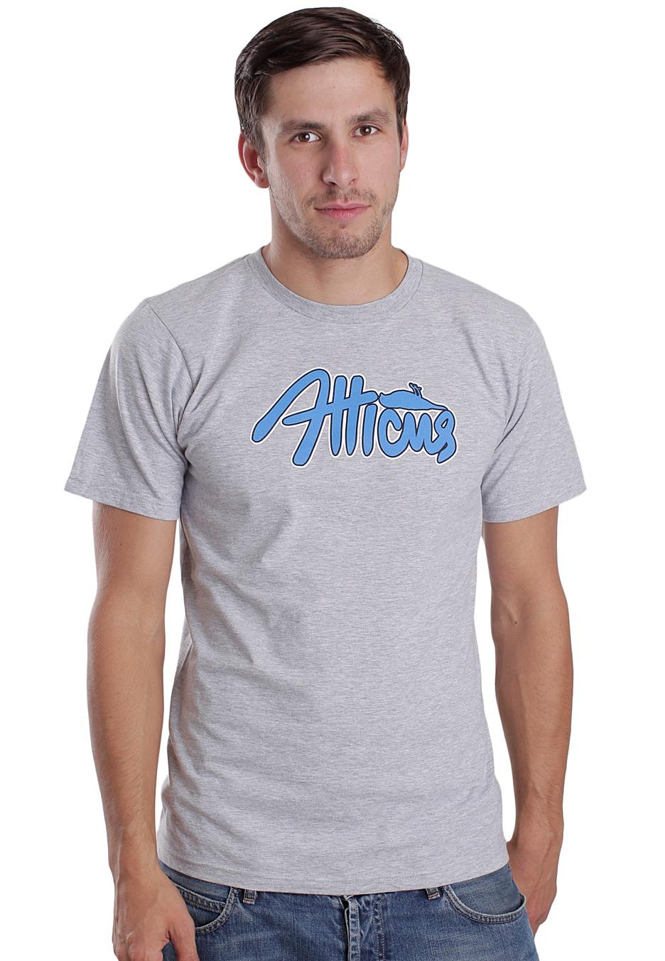 Atticus Bender Heather Grey T Shirt