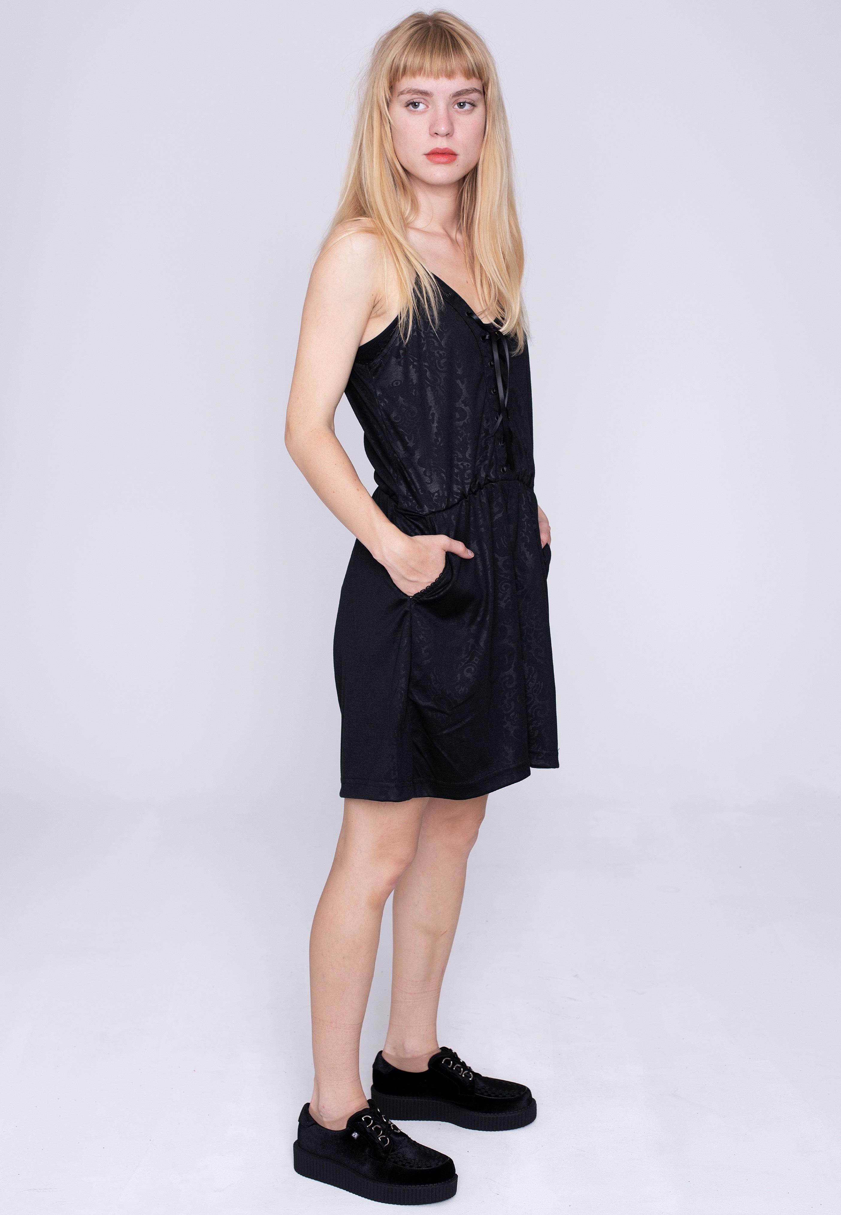 Hosen - Poizen Industries Layre Black Jumpsuits  - Onlineshop IMPERICON
