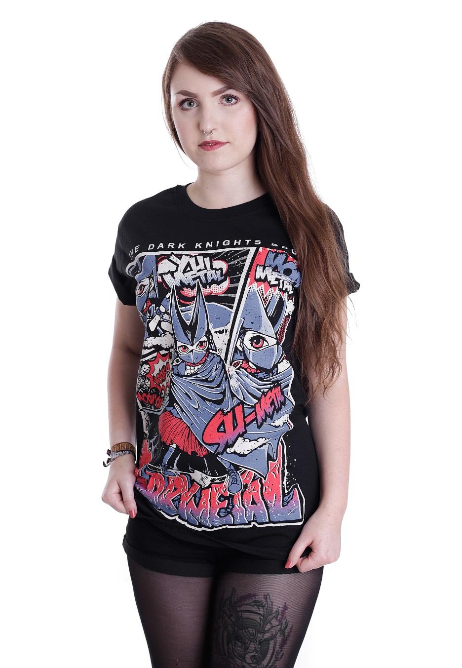 Babymetal Dark Knights T Shirt Official Hard And