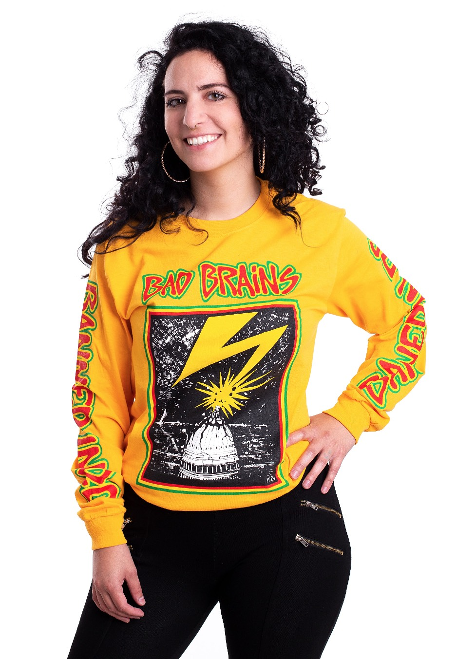 b4aa9a685f99 Bad Brains - Capitol Yellow - Longsleeve - Official Hardcore Merchandise  Shop - Impericon.com US