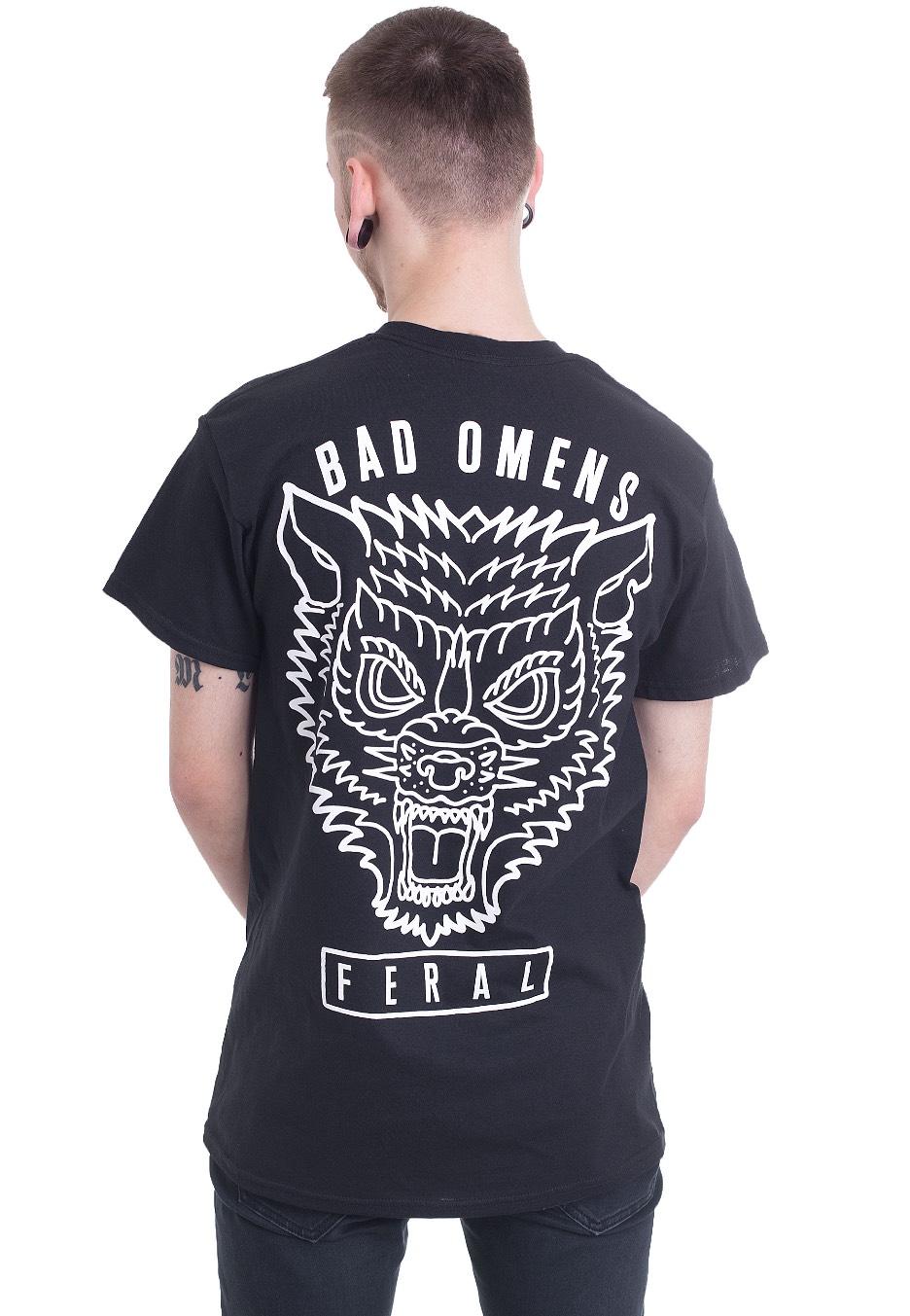 Bad Omens - Wolf - T-Shirt - Offizieller Post Metalcore ...