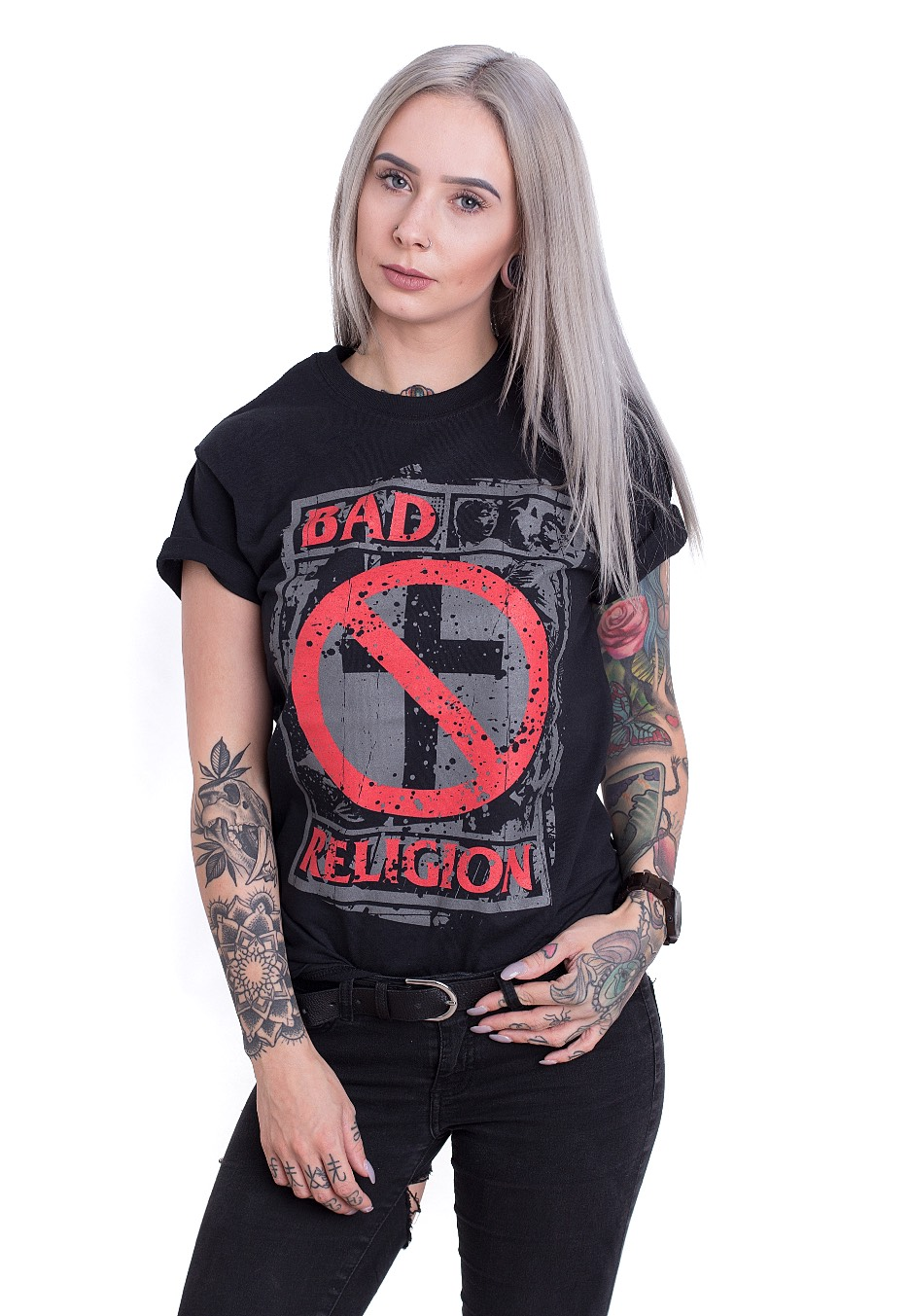 Unrest T-shirt T-shirts Kleidung & Accessoires Bad Religion