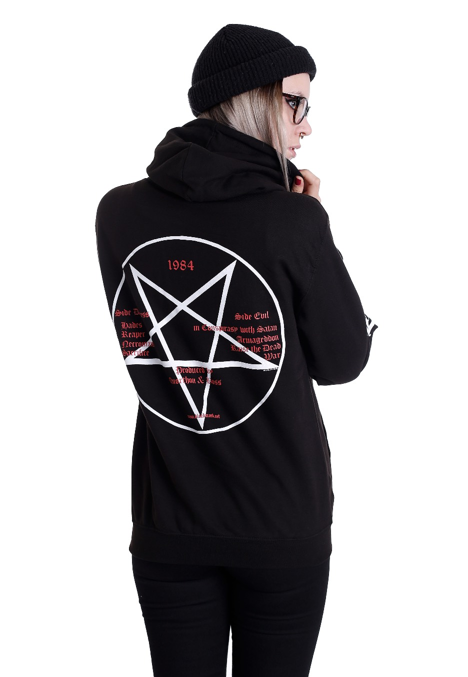 bathory goat hoodie bathory offici235le merchandise