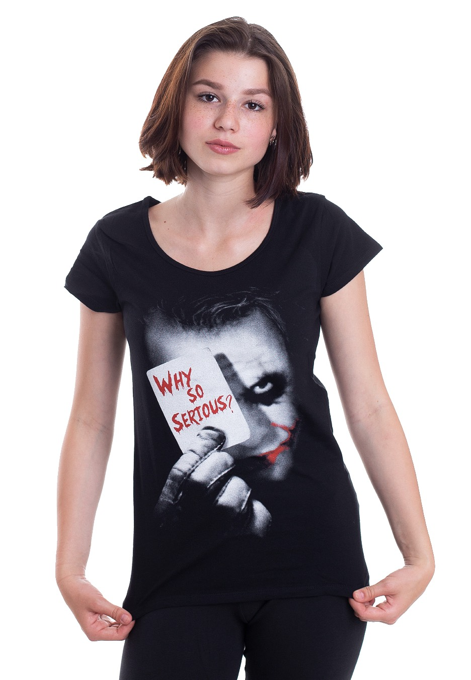 Oberteile - Batman Joker Why So Serious Girlies  - Onlineshop IMPERICON