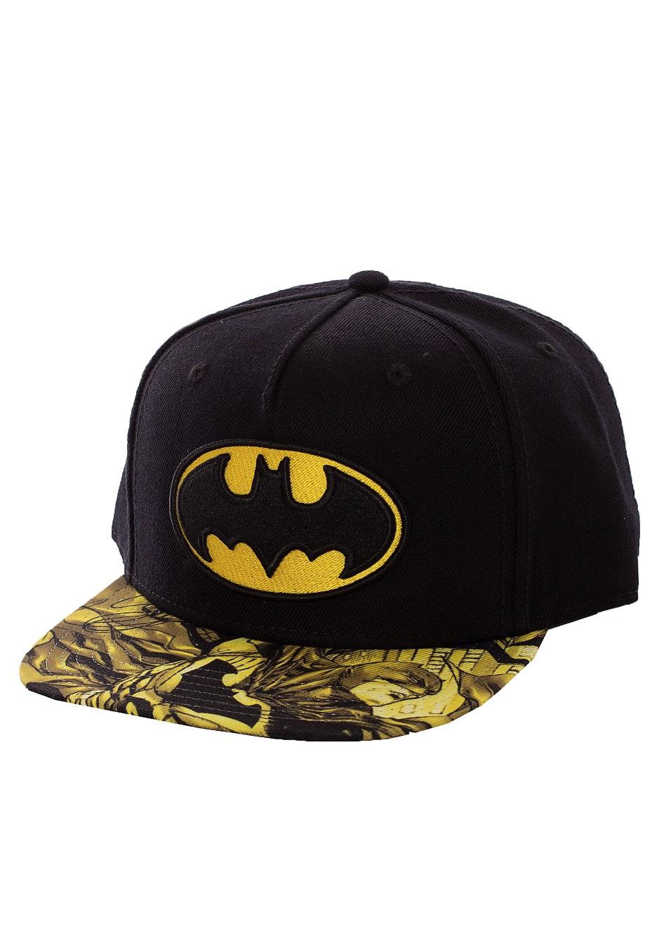 Batman Logo Youth Snapback Cap