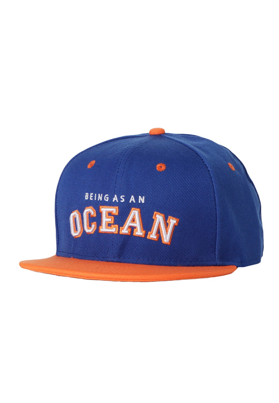 Being As An Ocean - Ocean Blue Orange Snapback - Cap - Official Melodic  Hardcore Merchandise Shop - Impericon.com UK 5dae90841e3