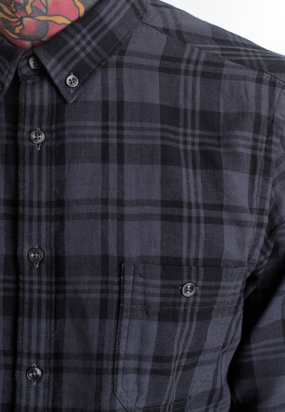Ben Sherman Ma00440 Ls Mod Fit Puritan Shirt Streetwear Shop